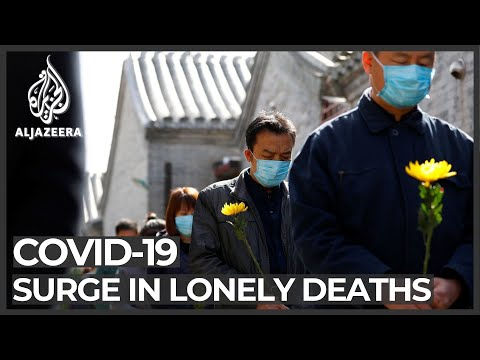 COVID-19 Prevents People From Mourning As 'lonely Deaths' Surge