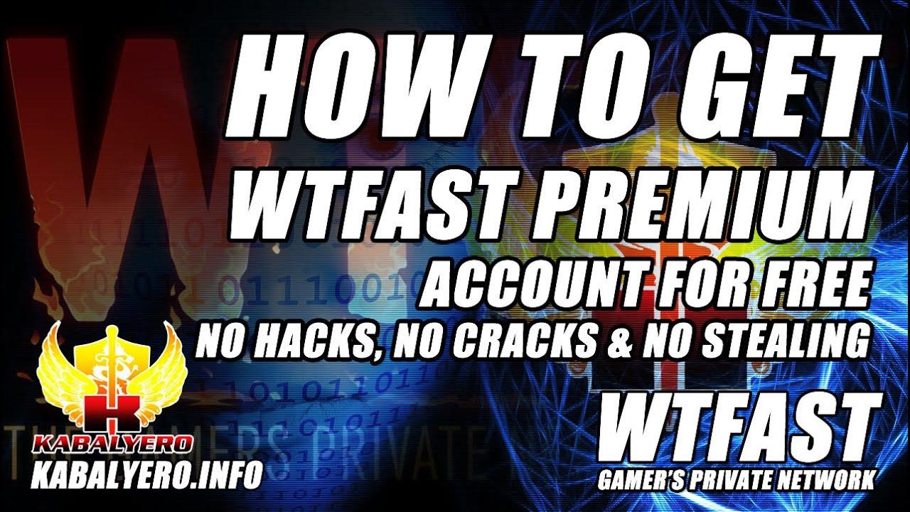 How To Get WTFast Premium FREE ★ No Cracks, No Hacks, No Cheats & No  Stealing