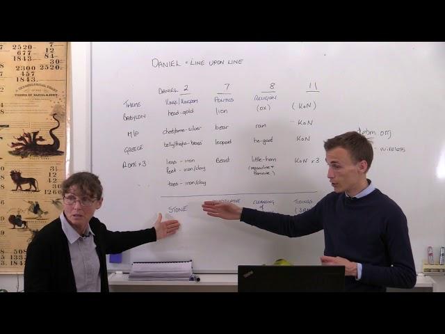3/29. Vergelijk en Contrast in Daniël (2) / Compare and Contrast Daniel (2) | Terrie Lambert(28-05)