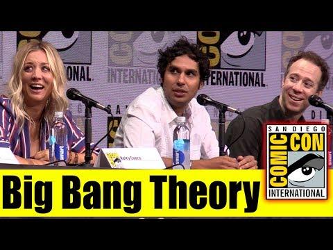 BIG BANG THEORY   Comic Con 2017 Full Panel (Kaley Cuoco, Johnny Galecki, Kunal Nayyar)