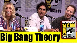 BIG BANG THEORY | Comic Con 2017 Full Panel (Kaley Cuoco, Johnny Galecki, Kunal Nayyar)