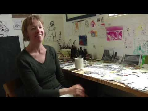 Brighton Graphic Novel: Artist Ottilie Hainsworth, QueenSpark Books