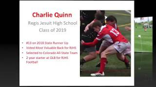 Charlie Quinn - 2018 Rugby Highlights