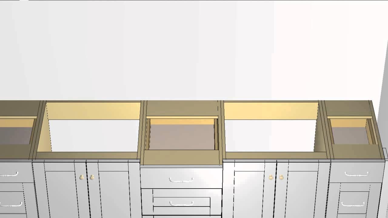 Superior Master Vanity Layout Tutotial Form Barker Cabinets