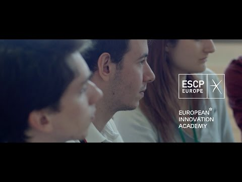 ESCP Europe's students at the European Innovation Academy - Turin 2016