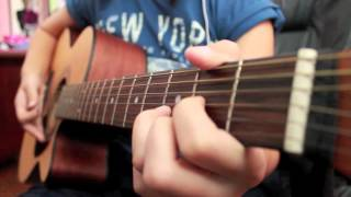 Die in Your Arms by Jusin Bieber (Guitar Cover) Instrumental
