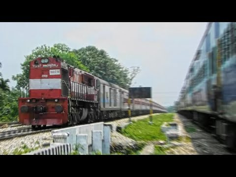 Racing Along The Heart Of Dooars| NTSK - SBC Weekly SF Exp With HWH Red Alco Skipping Mujnai