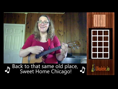 Sweet Home Chicago Ukulele Lesson Tutorial - 21 Songs in 6 Days: Learn Ukulele the Easy Way