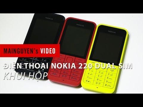 Khui hộp điện thoại Nokia 220 Dual SIM - www.mainguyen.vn