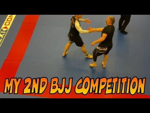 My 2nd BJJ Competition, White Belt Masters 4(ish) Brighton February 2020.