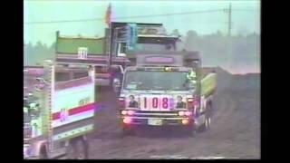 第一回・全日本ダンプカーレース(オープニング) /  '85 Japan dump truck race ( Opening )