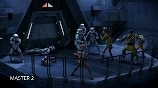 [The Ghost crew secretly storms The Prison] Star Wars Rebels Season 1 Episode 5 [HD]