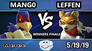 GOML 2019 SSBM - TSM   Leffen (Fox) Vs. C9   Mango (Falco) Smash Melee Tournament Winners Finals