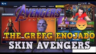 THIS IS A BASURE!! GREFG MOLESTY WITH FORTNITE BY SKINS AVENGERS