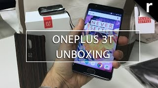 OnePlus 3T Unboxing and Hands-on Review (UK): Setup, accessories and more!
