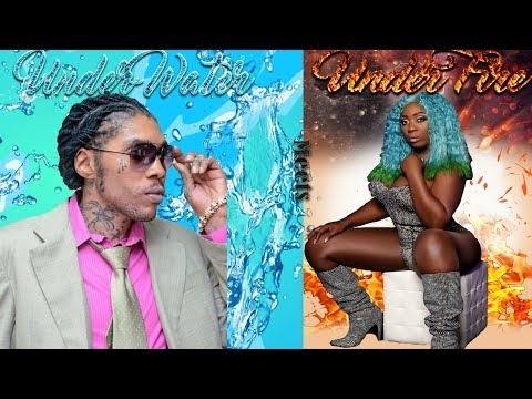 Vybz Kartel Under Water Meets Spice Under Fire Mix by djeasy