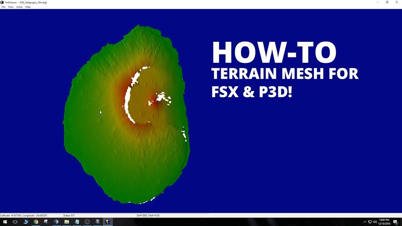 fsgenesis world terrain mesh