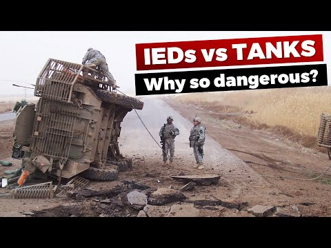 Why are IEDs so dangerous? IEDs vs Armored Vehicles - And Ho