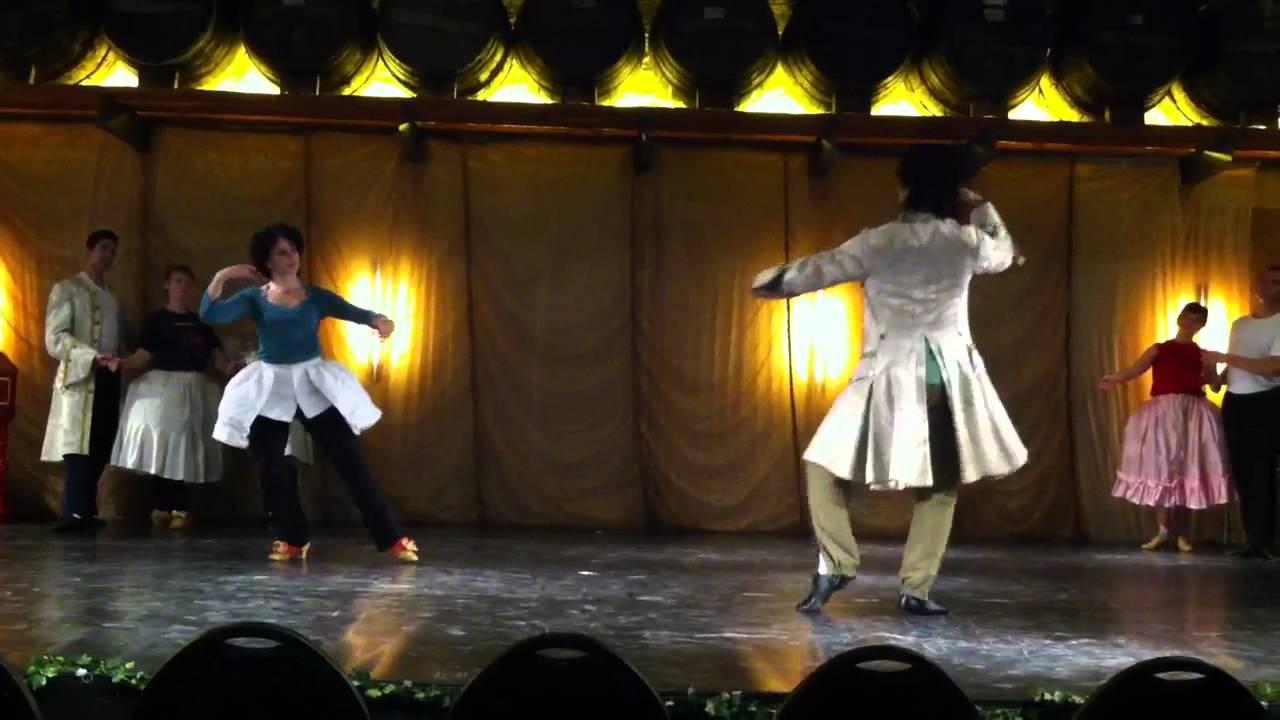 Alexis Silver la royal - baroque dance, dancedjunichi fukdua & alexis silver