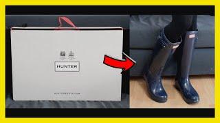 Hunter Boots Original Tall Gloss | Unboxing