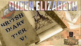 "#16 British BB Diary ""The Queen"" @WoWs -SEK Sea Krauts LIVE"