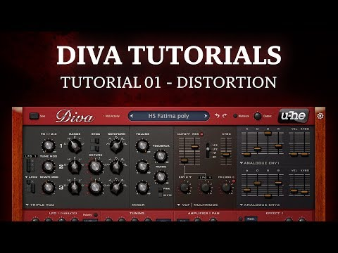 Diva tutorial 01 - Distortion