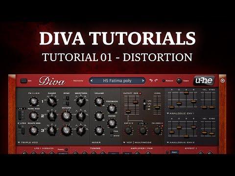 Diva tutorial 01 - Distortion