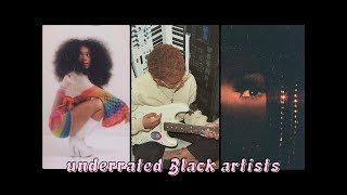 Black artists you NEED to listen to