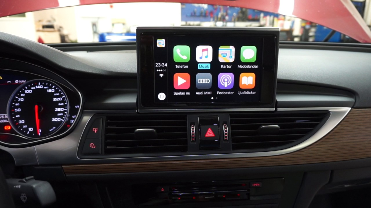 Audi A A Carplay Aktivering YouTube - Audi car play