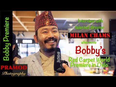 Bobby - Interview with director Milan Chams┃Just after Red Carpet ┃ World Premiere ┃in Oslo, Norway