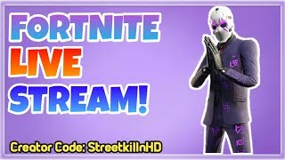 Open Lobby - New Dark Reflections Skins Bundle! Fortnite Live Stream!
