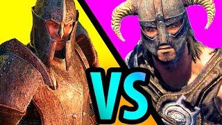 Skyrim - Сравниваем АРТЕФАКТЫ Skyrim Special Edition и Oblivion!