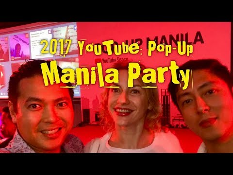 2017 Youtube Pop-Up Space Manila Opening Party Green Sun Makati by HourPhilippines.com