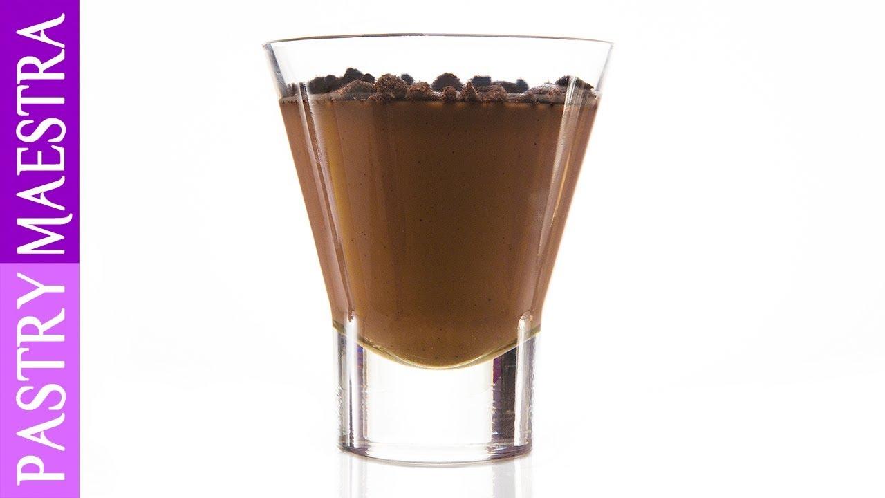 Chocolate Panna Cotta - YouTube