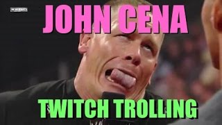 TWITCH SONG REQUEST TROLLING - JOHN CENA