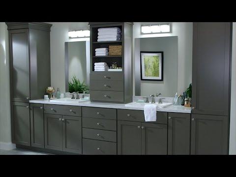 Custom Bath Cabinetry - Martha Stewart