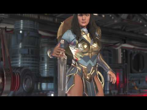 Injustice 2 Wonder Woman New Ability Hermes