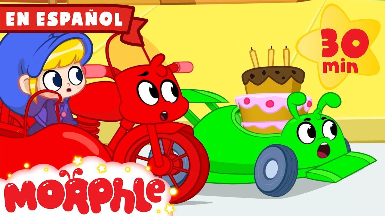 Morphle en Español - La Carrera del Pastel de Cumpleaños | +más Caricaturas para Niños
