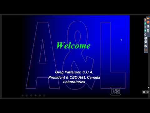 A&L Canada Labs Plant Analysis Webinar