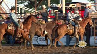 02 Bareback and Ranch Broncs - 16 July 2017, Lakin KPRA Rodeo