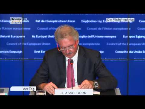 EU-Asylpolitik: Jean Asselborn zur Flüchtlingskrise am 08.10.2015