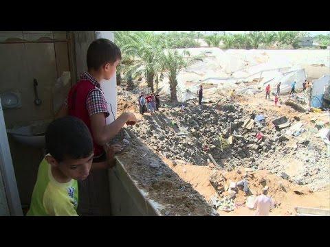 Gaza: une frappe israélienne fait 7 morts à Deir al-Balah