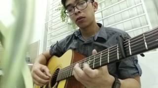 PHÍA SAU MỘT CÔ GÁI Guitar solo Fingerstyle Thobi Trọng