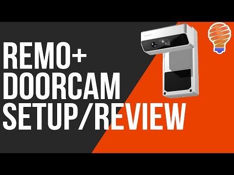 Remo+ Doorcam Review, Unbox, and Setup - Smart Home Camera
