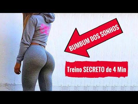 BUMBUM GRANDE→ 2 Exercícios Para Aumentar O Bumbum Em Casa! Como Ter Bumbum Grande, Firme E Redondo