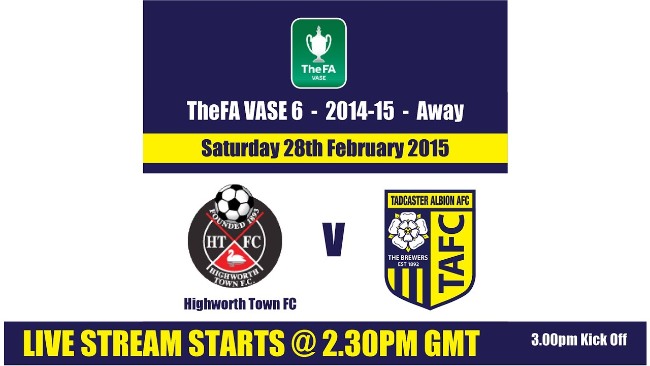 The fa vase image collections vases design picture the fa vase 6 quarter final tadcaster albion v highworth first the fa vase 6 quarter floridaeventfo Image collections