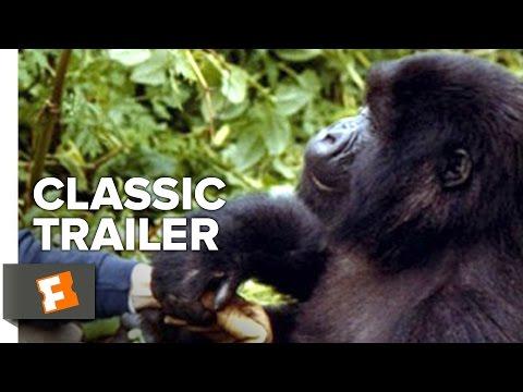 Gorillas In The Mist (1988) Official Trailer - Sigourney Weaver, Bryan Brown Movie HD