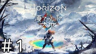 #1【DLC】Horizon Zero Dawn ホライゾン ゼロ ドーン【凍てついた大地】実況プレイ