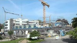 Klinikbau - neuartige Elementbauweise in Holz-/Stahl-Leichtbausystem