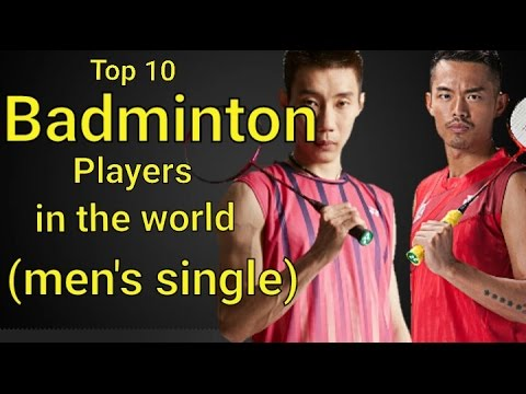 world's Top 10 badminton players (men's single)latest rankin